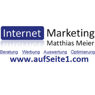aufSeite1.com | Internet Marketing Matthias Meier logo