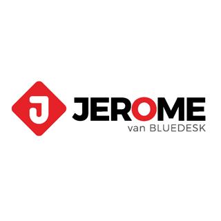 #JEROME van Bluedesk logo