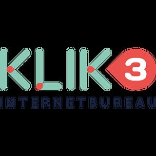 KLIK3 internetbureau logo