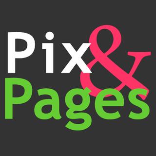 Pix & Pages logo