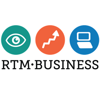 RTM Business logo
