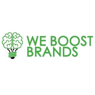 We Boost Brands logo